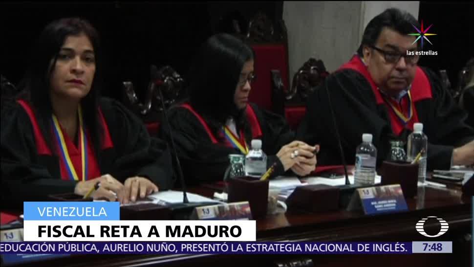 noticias, televisa, Fiscal de Venezuela, advierte, mantendrá, firme en su cargo