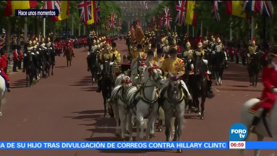 noticias, forotv, Reyes de España, inician, visita de Estado, Reino Unido