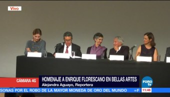 Homenaje, Enrique Florescano, Bellas Artes, Secretaría de Cultura