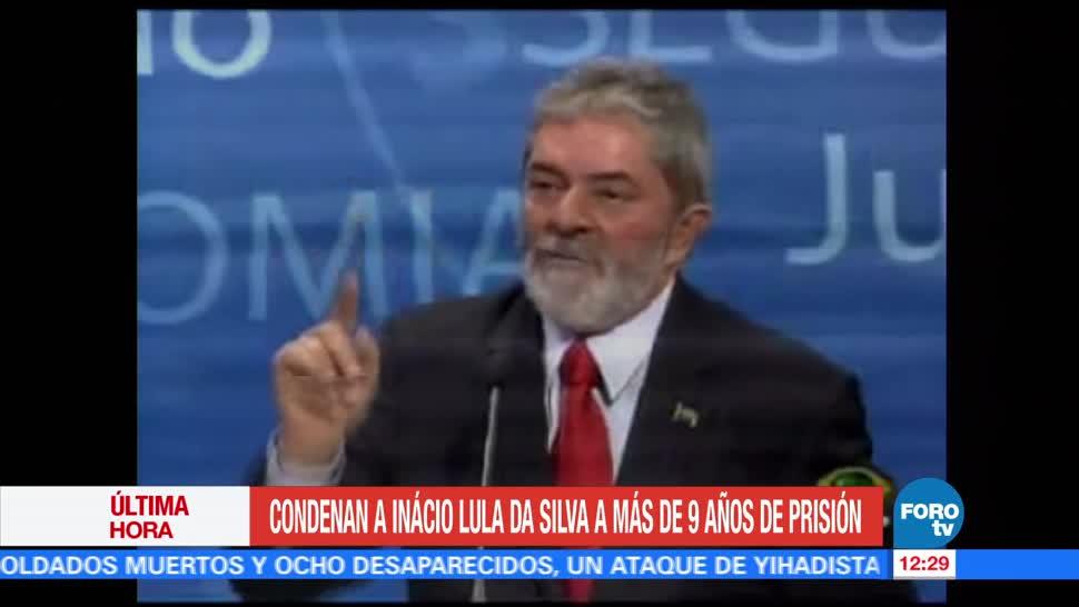 Expresidente brasileño, Luiz Inácio Lula da Silva, nueve años y medio de cárcel, condenado