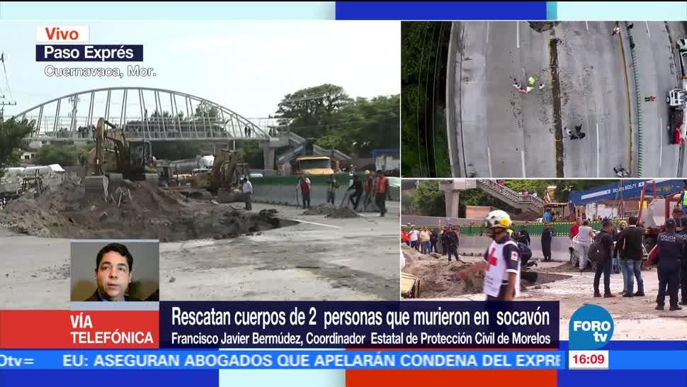 noticias, televisa, Paso Express, Cuernavaca, obra compleja, construcción