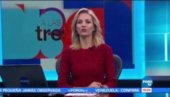 noticias, forotv, A las Tres, Programa, completo, 12 de julio de 2017