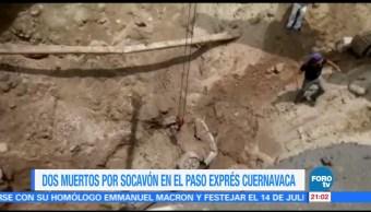 Socavón, Paso, Express, Cuernavaca, morelos, autopista
