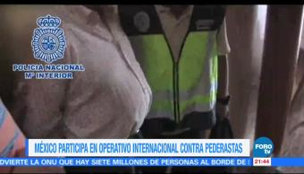 México, participa, operativo, internacional, detener, pederastas