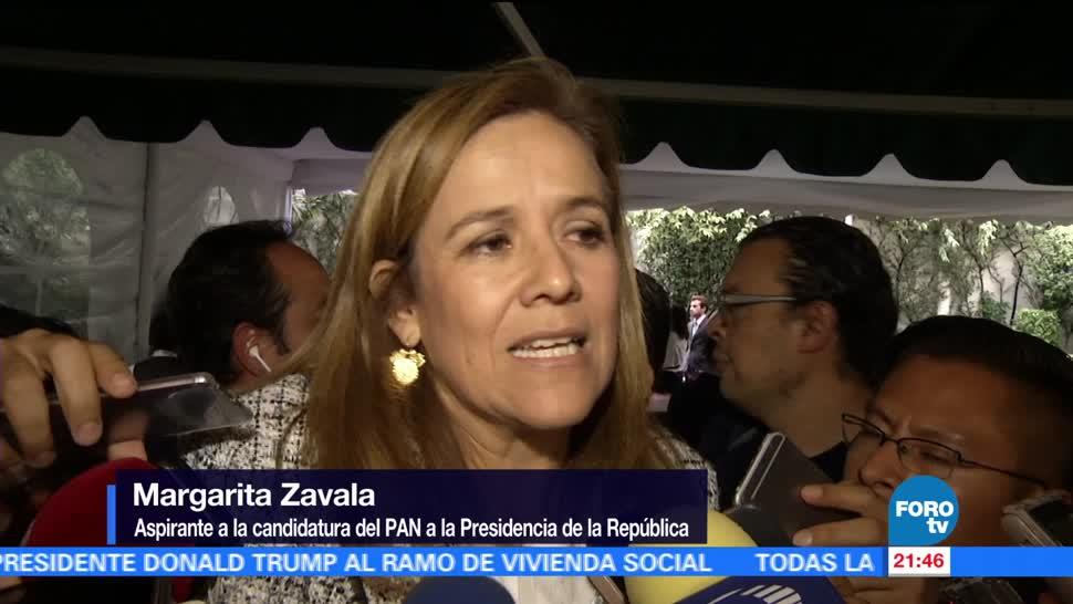 Margarita Zavala, pide, Anaya, definición, alianzas, pan