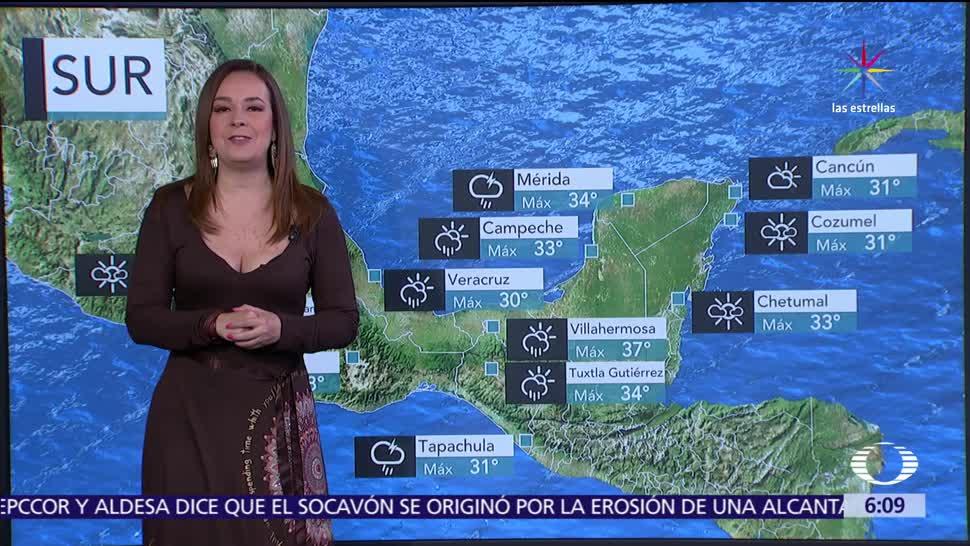 noticias, televisa, Pronostican, vientos fuertes, estados, norte del país