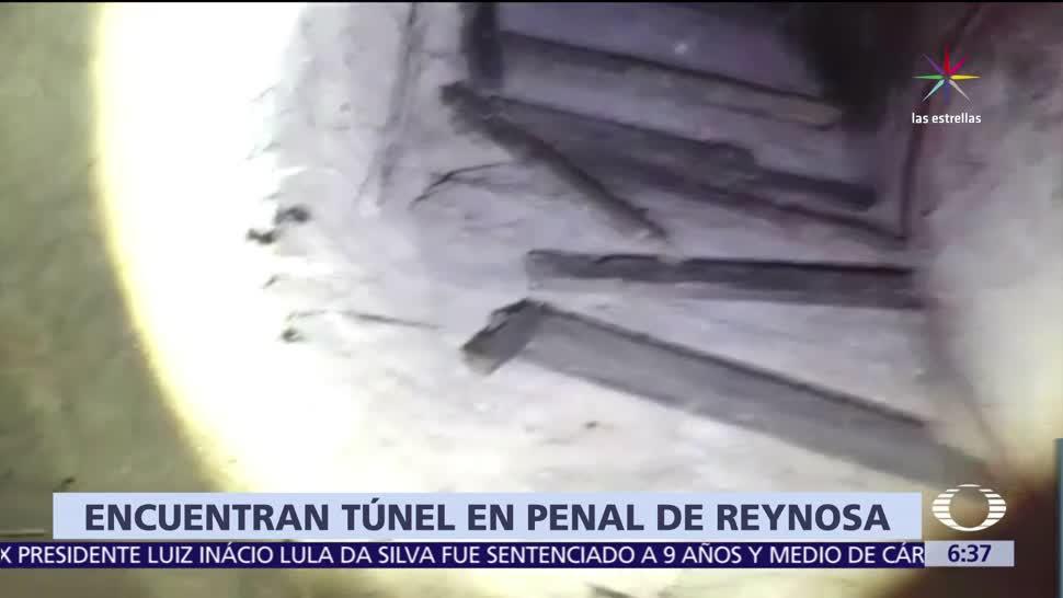 noticias, televisa, Encuentran, túnel, penal, Reynosa