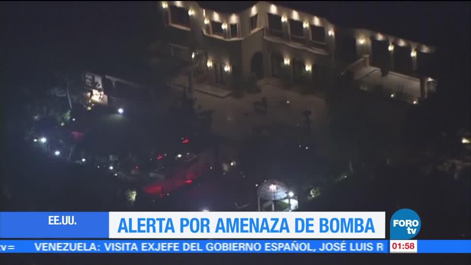 noticias, televisa, UCLA, alerta, amenaza de bomba, Universidad de California