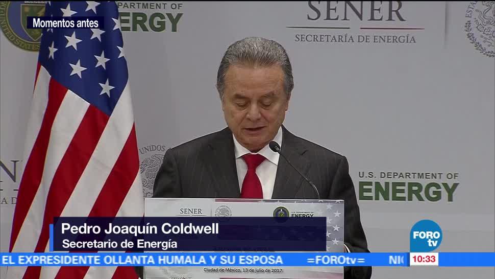 noticias, forotv, Secretarios de Energía, México, EU, ofrecen conferencia de prensa