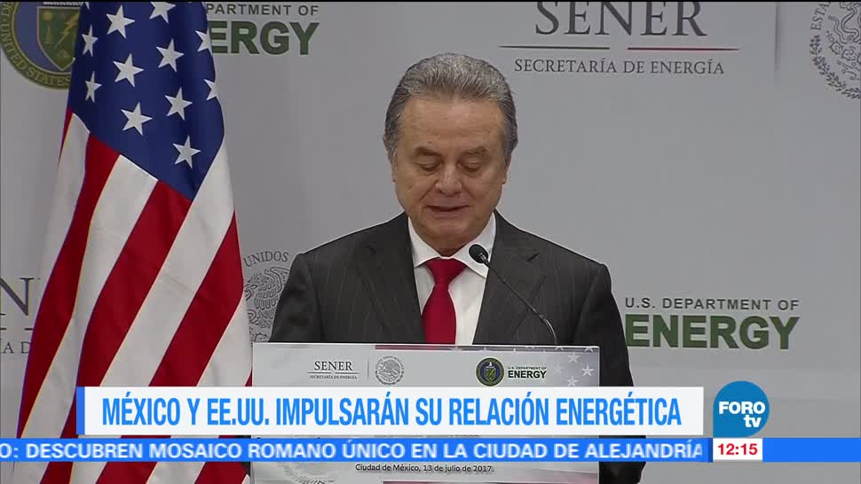 noticias, forotv, México y EU, trabajan, mejorar, sector energético