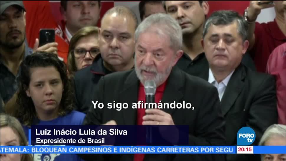 Expresidente, Brasil, Lula, da Silva, se defiende, acusaciones