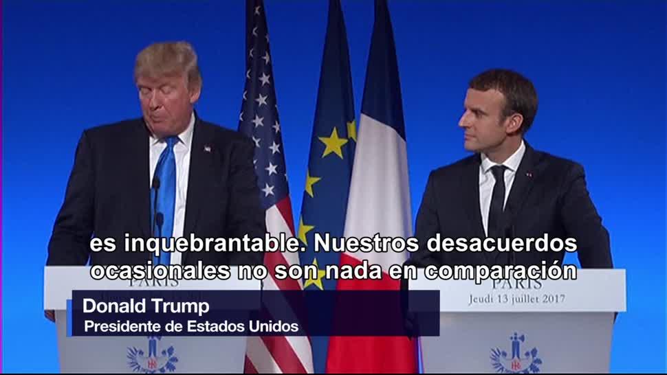 Estados Unidos, Donald Trump, Francia, Emmanuel Macron