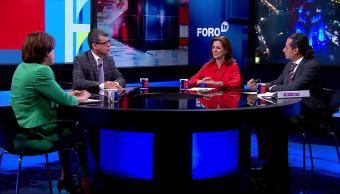 Primitivo Olvera, Patricia Mercado, Lidia Álvarez, Mario Rodríguez