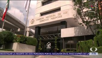 noticias, televisa,, CNDH, inicia queja, solidaridad con familiares, víctimas del Paso Express
