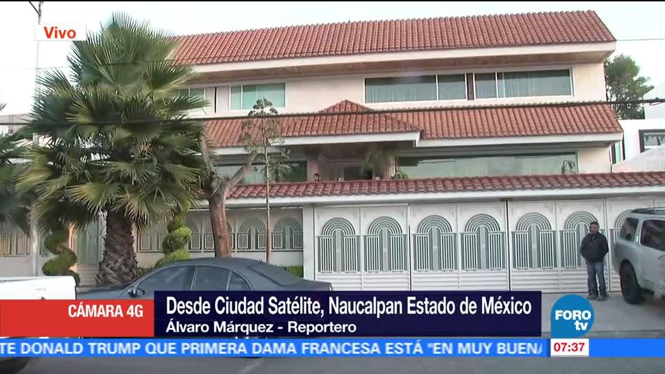 noticias, televisa, Policía Federal, catea casa, Naucalpan, Estado de México
