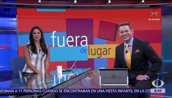 noticias, televisa, Fuera de Lugar, Dejan con la mano extendida, Trump, Agata Kornhauser