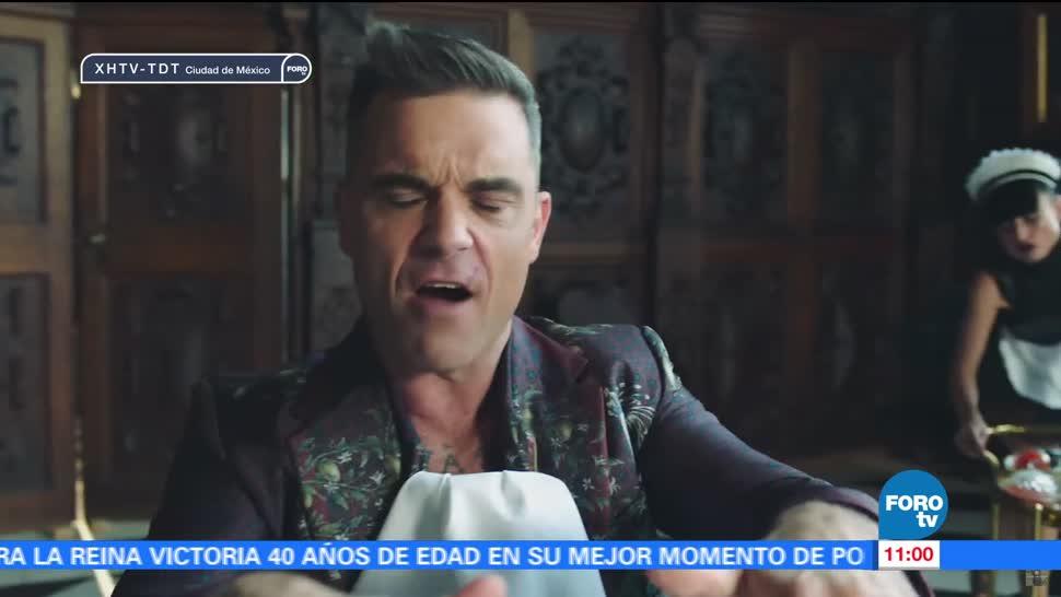 noticias, forotv, #LoEspectaculardeME0, Robbie Williams, promociona, nuevo disco