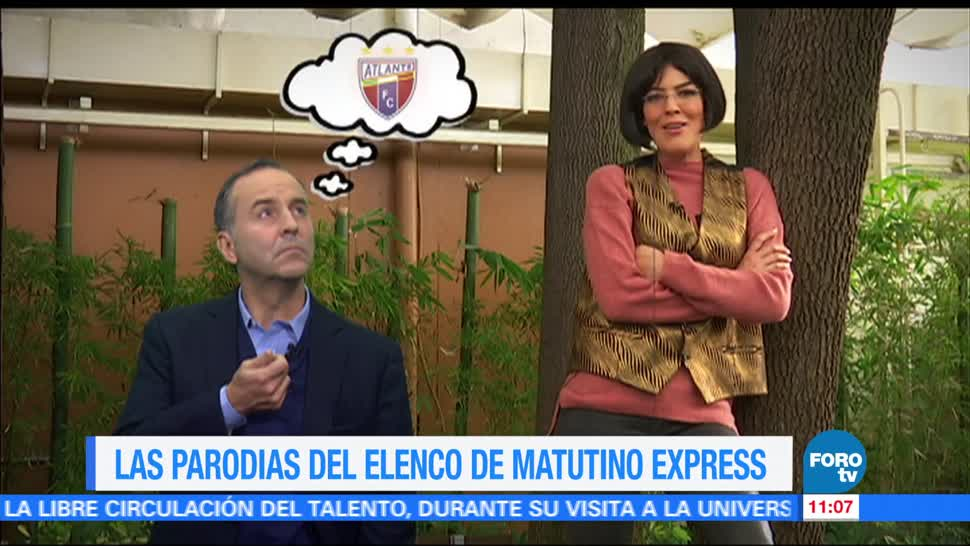 noticias, forotv, Las parodias, elenco, Matutino Express, Esteban Arce