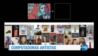 Arte, Inteligencia Artificial, máquinas, comunicarse