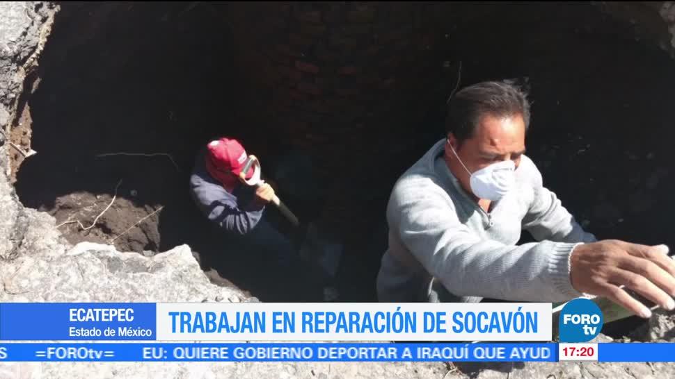 Ecatepec, Estado de México, socavón