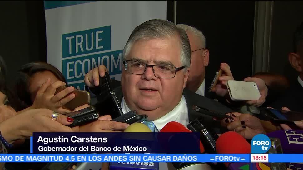 El gobernador del Banco de México, Agustín Carstens, inflación