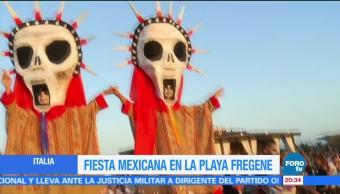 Fiesta, mexicana, playa, Roma, tradiciones, mexicanas