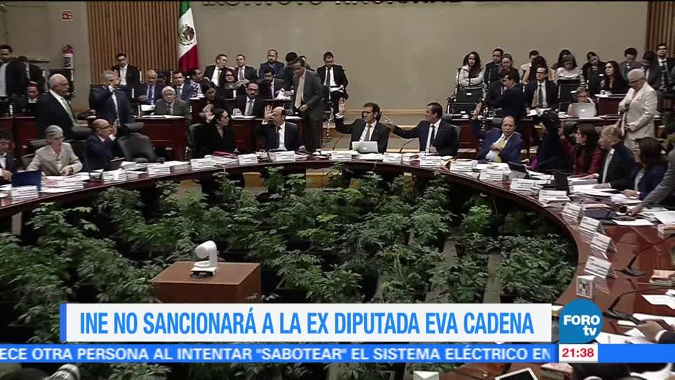 INE, no sancionará, exdiputada, Eva Cadena, corrupci´pon, morena