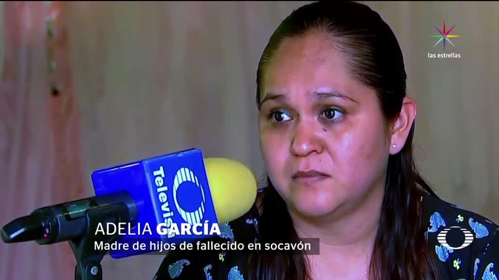 Familia, víctimas, socavón, sin noticias, autoridades, apoyo deudos