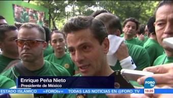carrera, Molino del Rey, Enrique Peña Nieto, Estado Mayor Presidencial, 10km