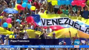 papa Francisco, pueblo venezolano, consulta popular, domingo
