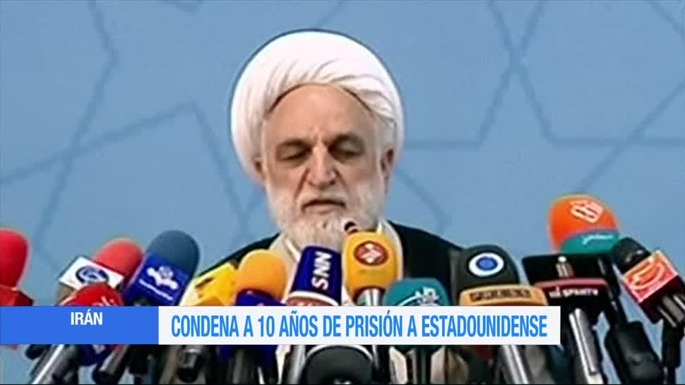 Condenan, estadounidense, por espionaje, Irán