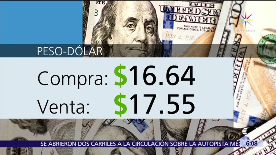 dólar, casas de cambio, Aeropuerto de la Ciudad de México, 16.64