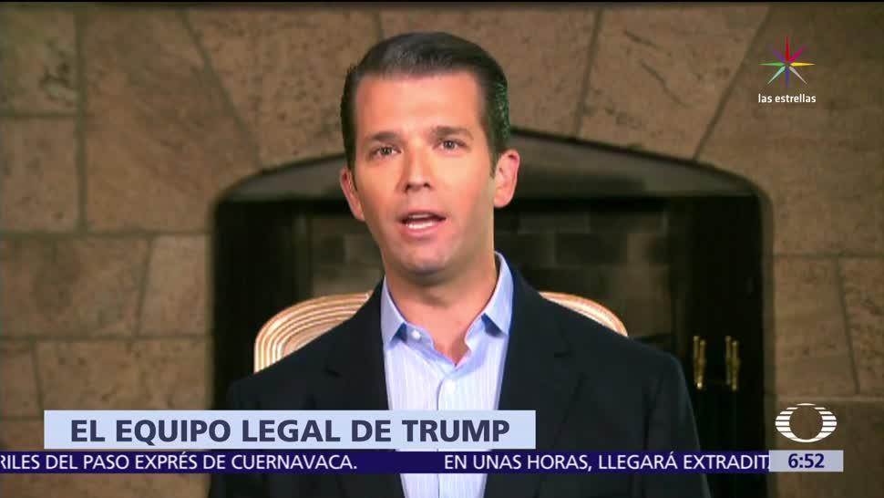 Jay Sekulow, abogado personal, Donald Trump, Trump hijo, abogada rusa