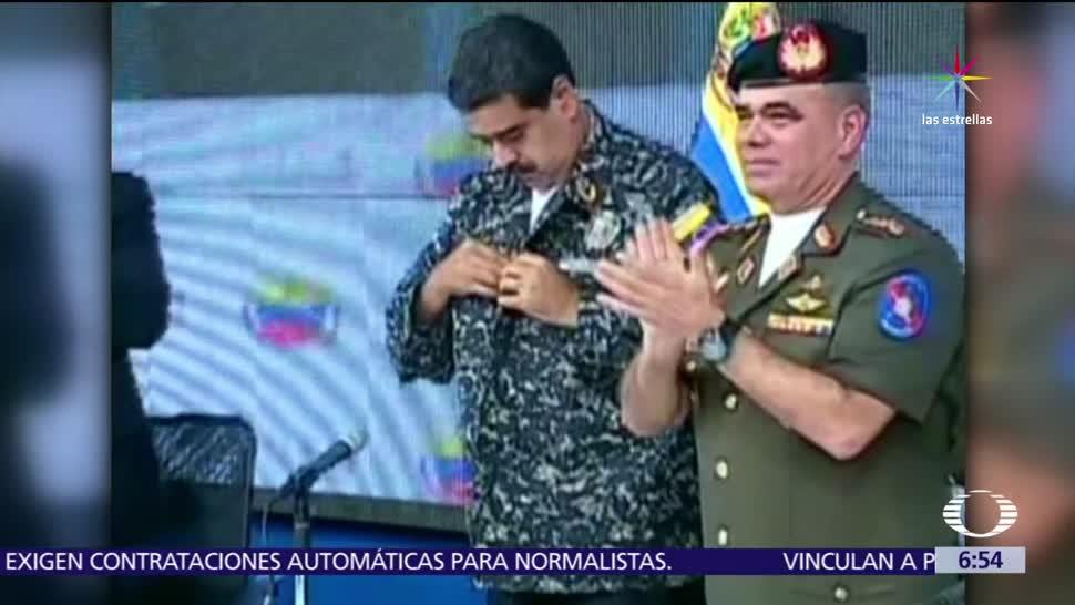presidente de Venezuela, Nicolás Maduro, Saddam Hussein, uniforme de la Policía Nacional