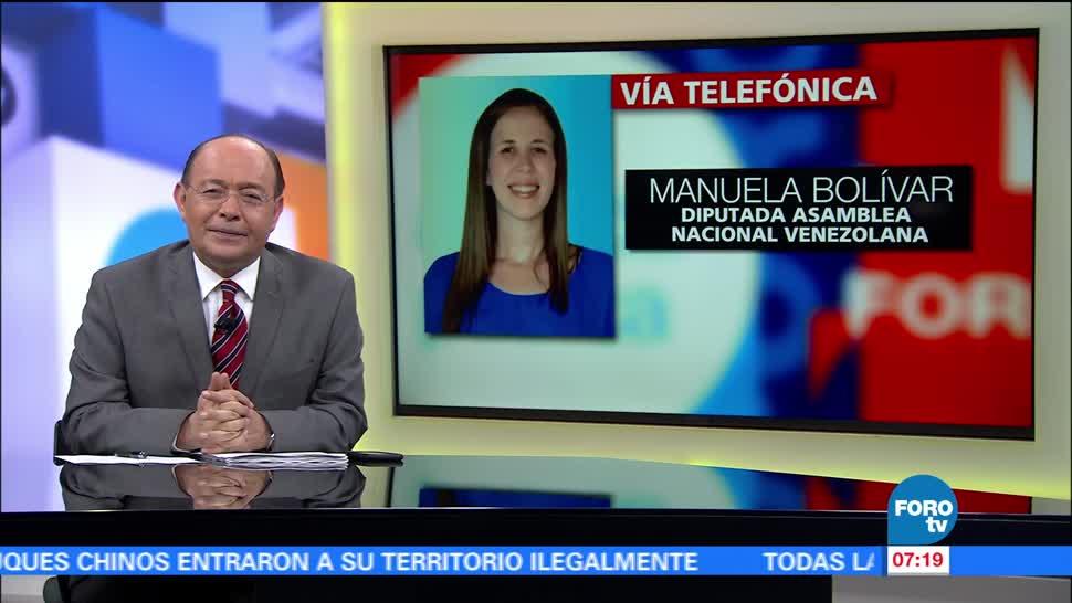 Manuela Bolívar, diputada, Asamblea Nacional Venezolana, Nicolás Maduro