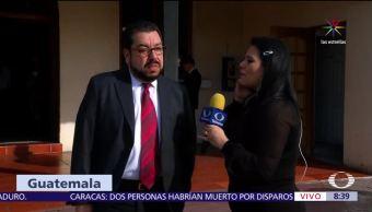 Carlos Velázquez, abogado de Javier Duarte, Guatemala, exgobernador de Veracruz