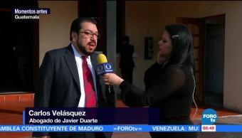 Carlos Velásquez, abogado de Javier Duarte, exgobernador de Veracruz, Reclusorio Norte, Ciudad de México