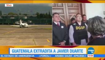 imágenes, exgobernador de Veracruz, Javier Duarte, avión de la PGR, Ciudad de México