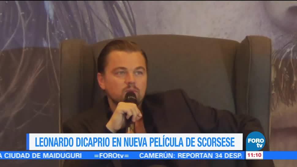 actor, Leonardo DiCaprio, cineasta Martin Scorsese, sexta película