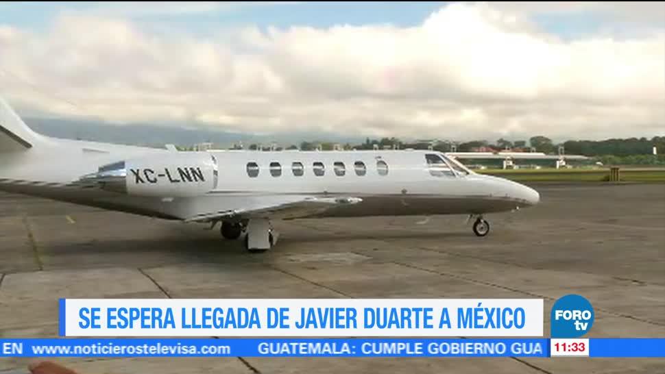 Javier Duarte, exgobernador de Veracruz, lavado de dinero, delincuencia organizada