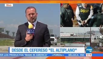 exgobernador de Veracruz, Javier Duarte, penal federal del Altiplano, Estado de México