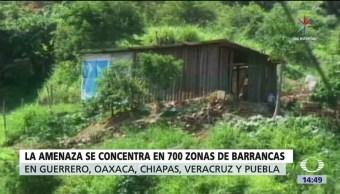 20 mil familias, en riesgo, lluvias, México