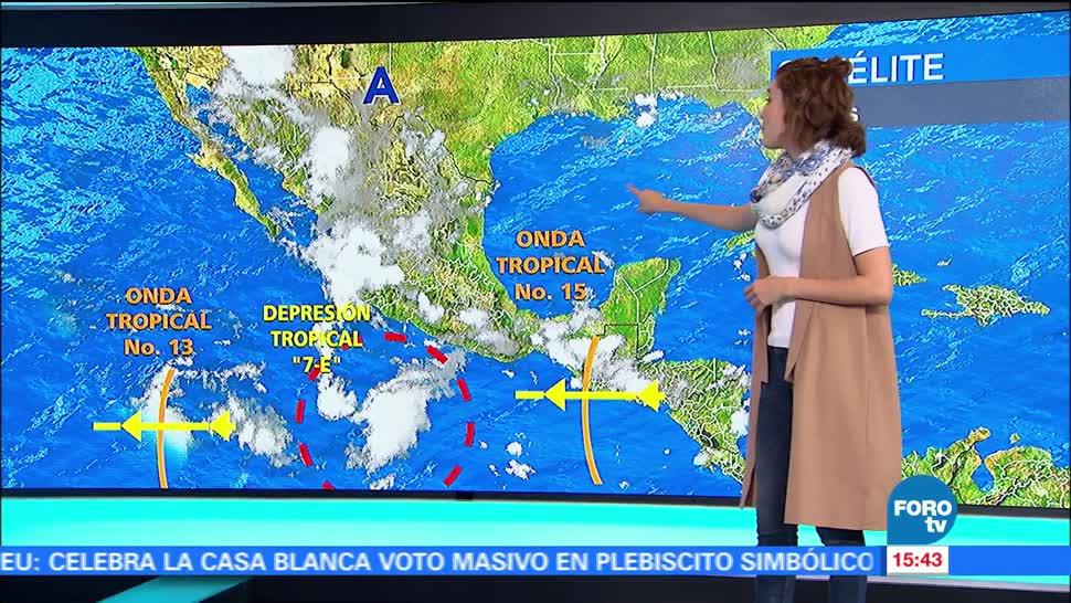 El Clima, Daniela Álvarez, Depresión tropical 7