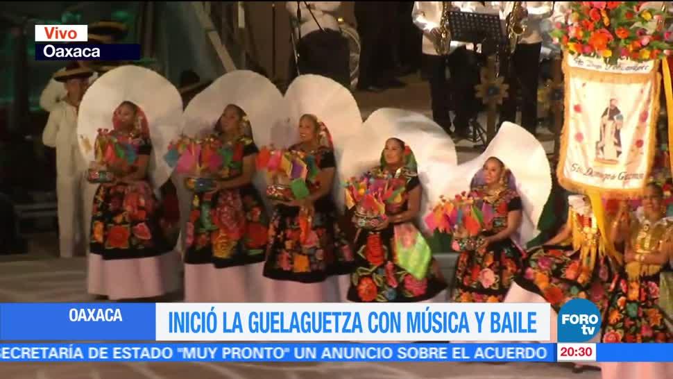 noticias, forotv, Continúa, celebración, Guelaguetza, Oaxaca
