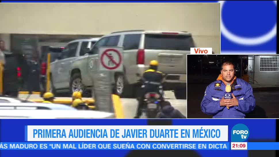 noticias, forotv, Sigue audiencia, Javier Duarte, Reclusorio Norte, Reclusorio Norte