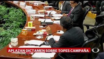 noticias, televisa, INE, aplaza dictamen, topes de campaña, Coahuila