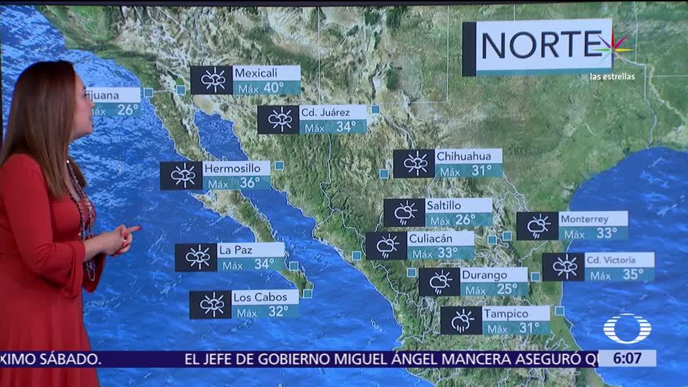 martes, onda tropical, potencial de lluvias, República Mexicana