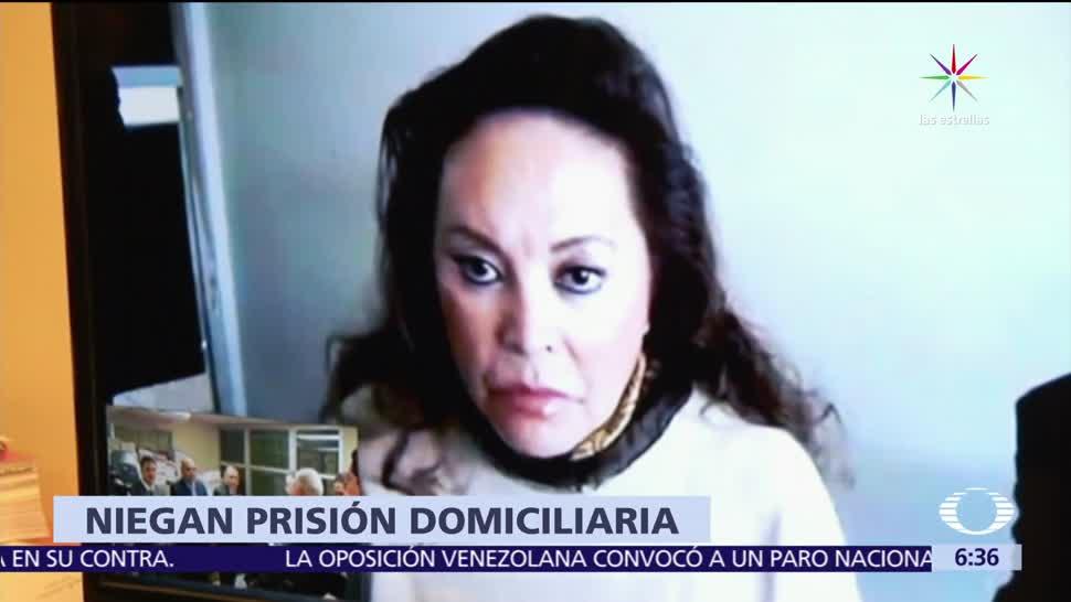 Niegan prisión, prisión domiciliaria, Elba Esther Gordillo, riesgo de fuga, delincuencia organizada