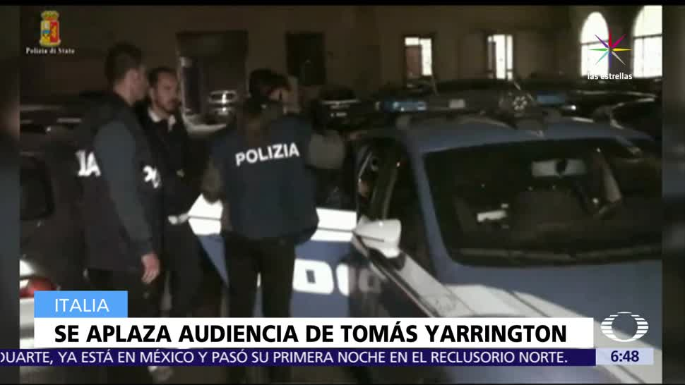 Tomás Yarrington, exgobernador de Tamaulipas, tribunal de Florencia, Italia