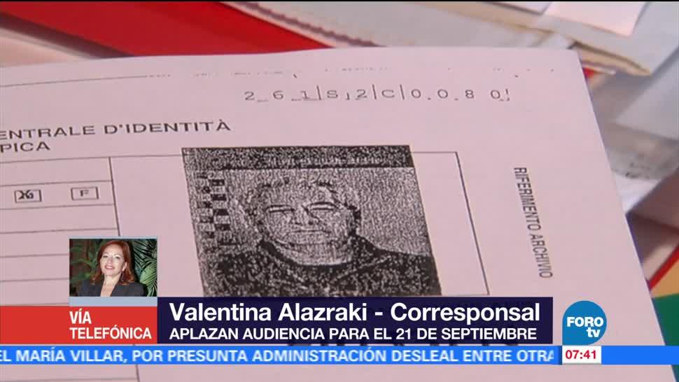 tribunal italiano, extraditar a México, Tomás Yarrington, exgobernador de Tamaulipas